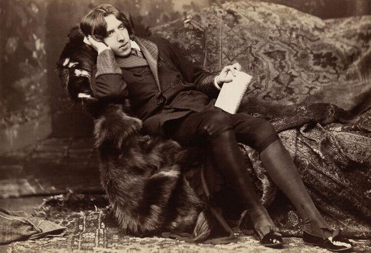 Оскар Уайльд, ок. 1882 г.