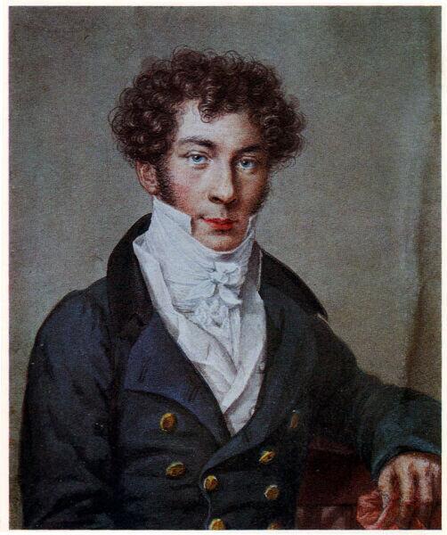 Н. И. Уткин, «Портрет Константина Батюшкова», 1815 г.