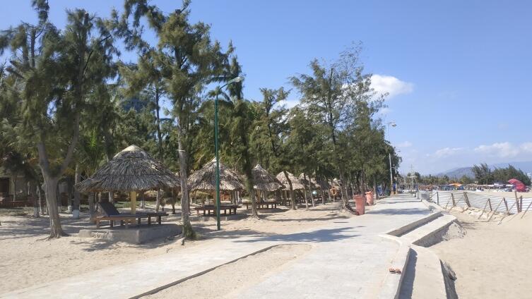 Пляж Фанранг, Южно-китайское море