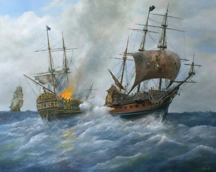 С. В. Дорофеев, «Пиратский галеон