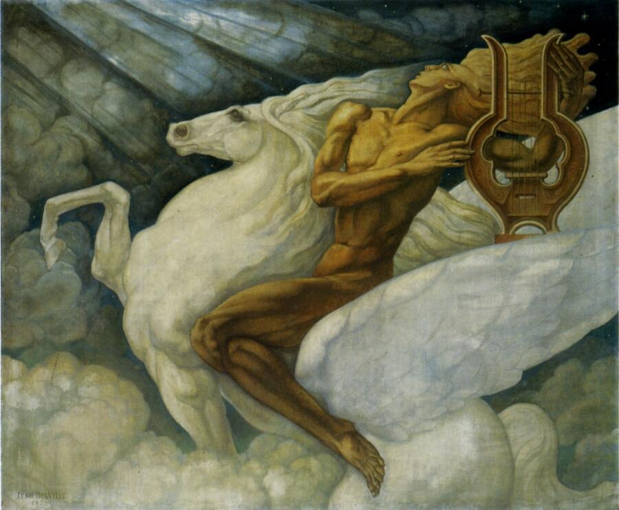 Жан Дельвиль, «Пегас», 1938 г.