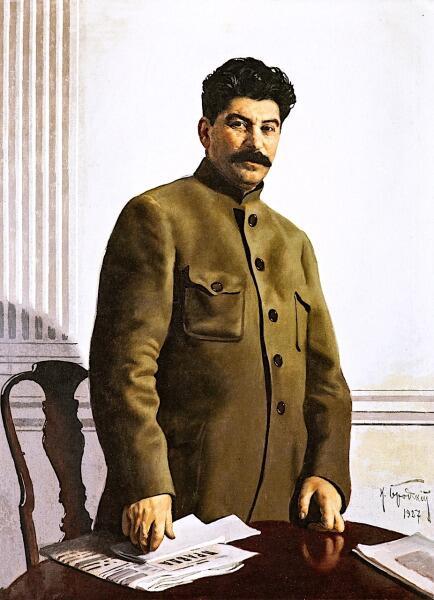 И. И. Бродский, «Портрет Иосифа Сталина», 1927 г.