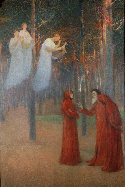 Анри Мартен, «Поэты в лесу»