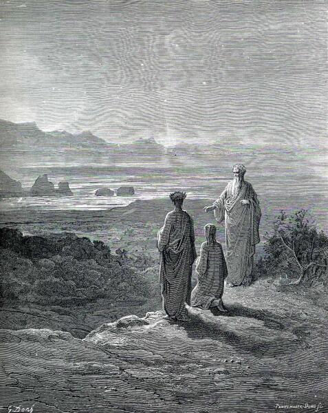 Поль Гюстав Доре, «Поэты выходят из Ада», 1861 г.