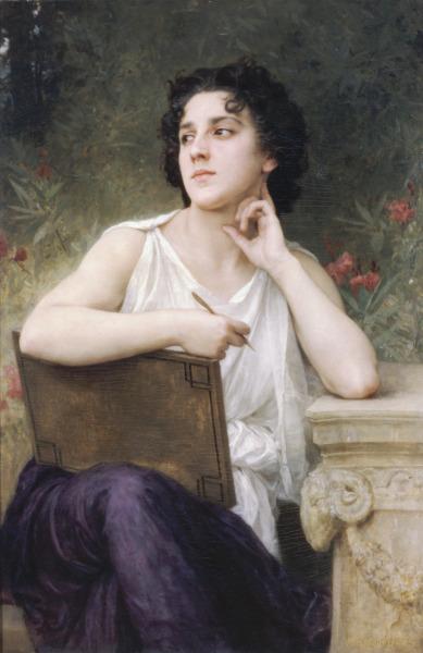 Вильям Адольф Бугро, «Вдохновение», 1898 г.