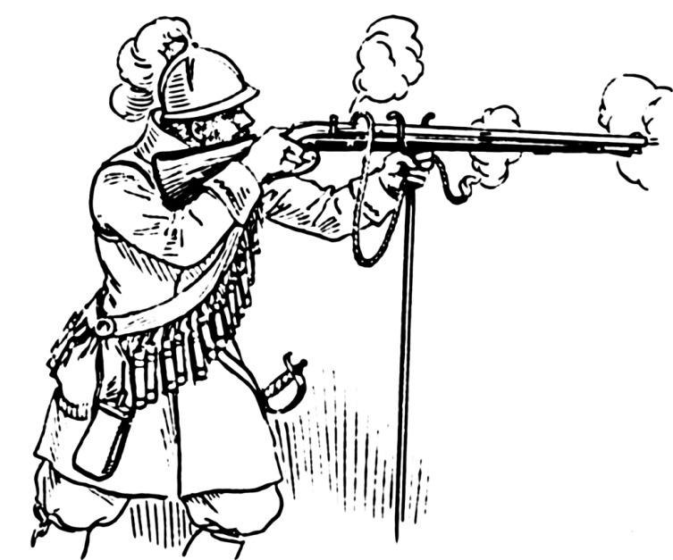 Стрельба из аркебузы