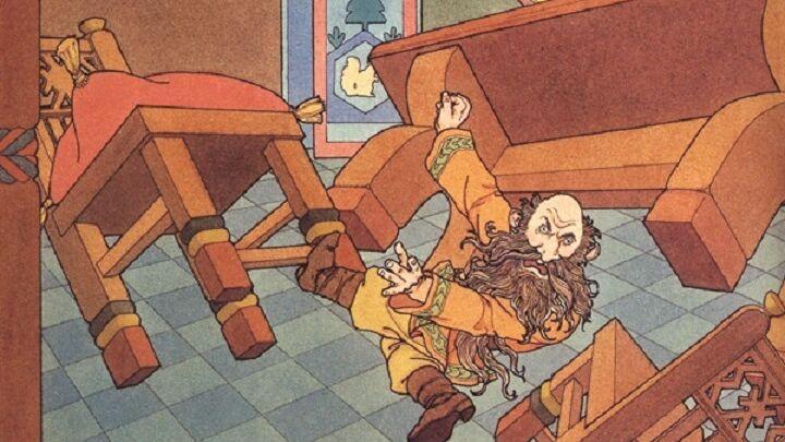 Алисия Остин, «Домовой» (фрагмент)