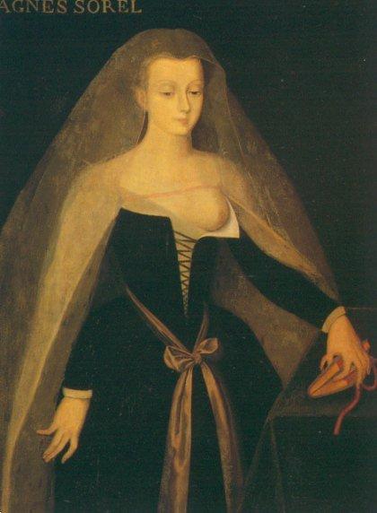Агнесса Сорель фаворитка Карла VII