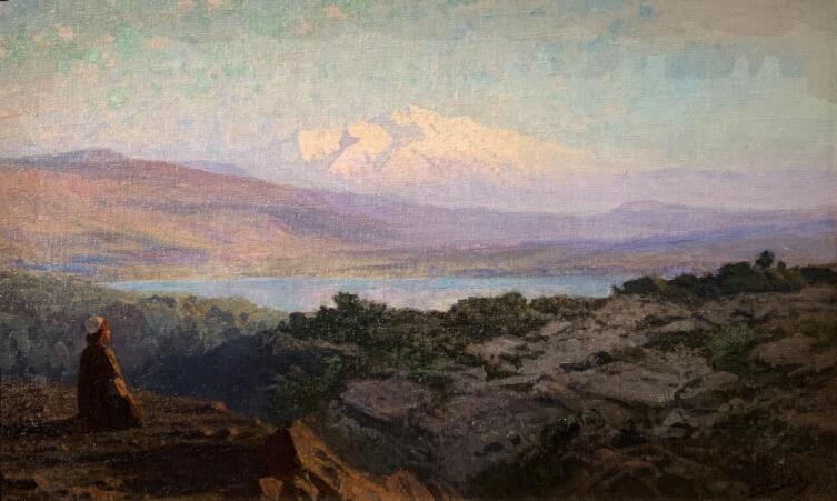 В. Д. Поленов, «Утром, вставши рано», 1890-е гг.