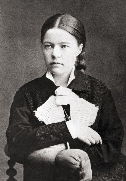 Сельма Лагерлёф, 1881 г.