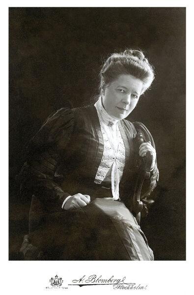 Сельма Лагерлёф, 1906 г.