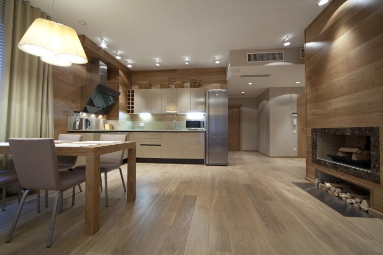 Рационально ли объединять кухню и гостиную?