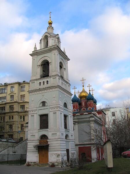Храм Великомученика Георгия Победоносца на Псковской горке