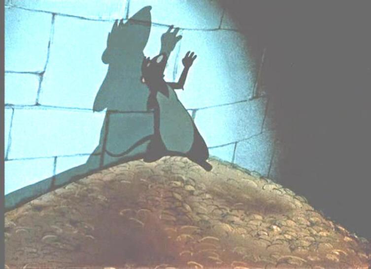 Кадр из м/ф «Заколдованный мальчик», 1955г.