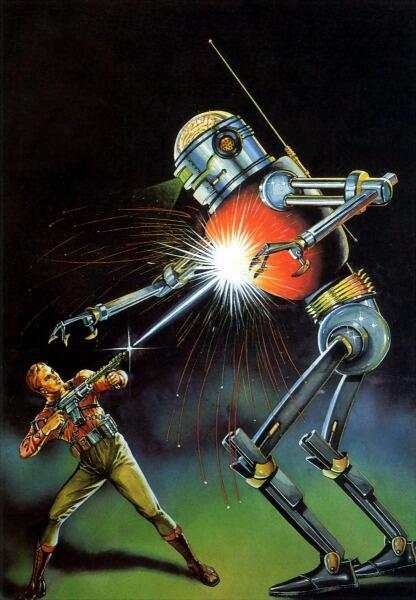 Роберт Фукуа, «Безумный робот»
