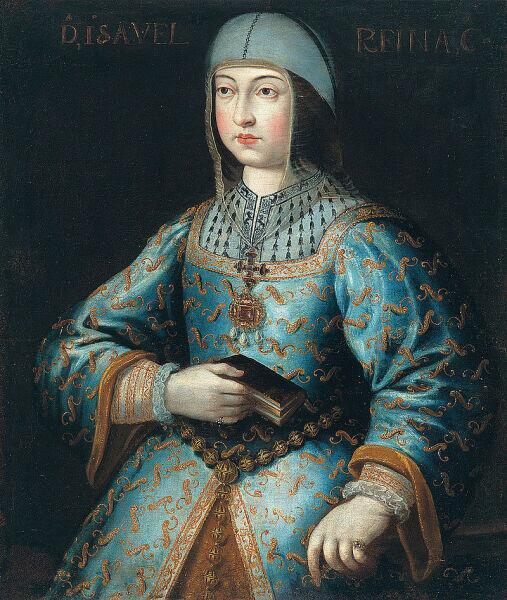 Изабелла в год вступления на престол