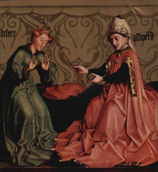 Конрад Виц, «Эсфирь перед Артаксерксом», ок. 1434—35 гг.