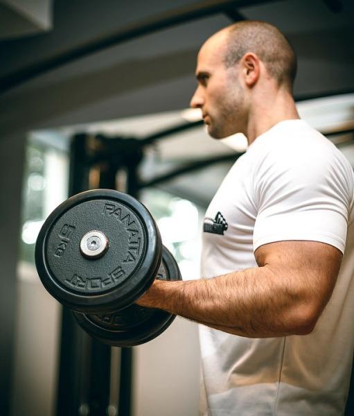 Как накачать мышцы рук?