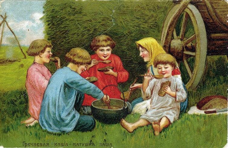 В. А. Табурин, «Гречневая каша — матушка наша»