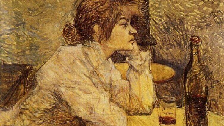 Анри де Тулуз-Лотрек, «Похмелье», 1889 г.