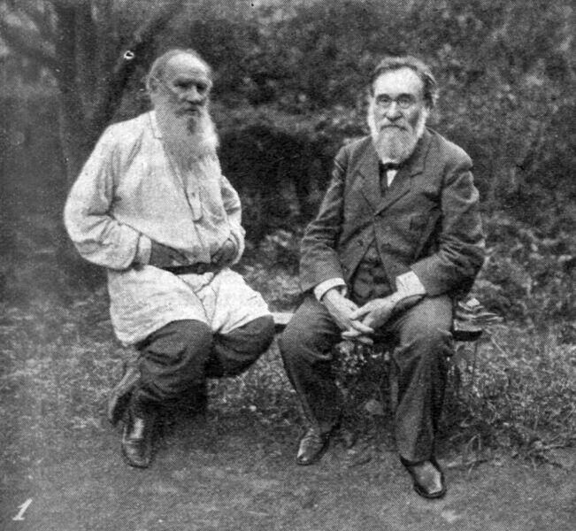 Лев Толстой и Илья Мечников