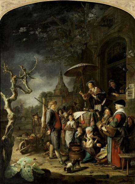 Геррит (Герард) Доу, «Лекарь-шарлатан», 1652 г.