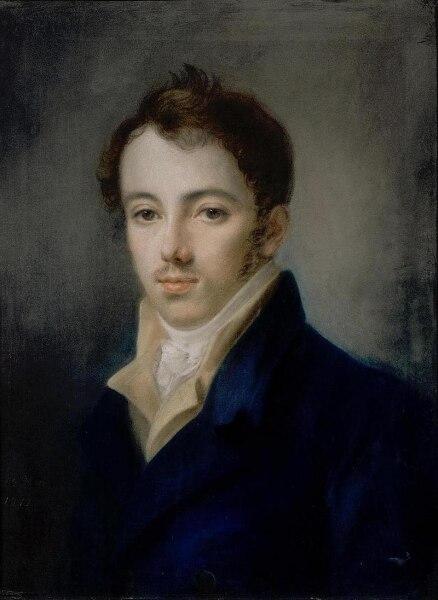 А. Г. Венецианов, «Портрет М. А. Фонвизина», 1812 г.