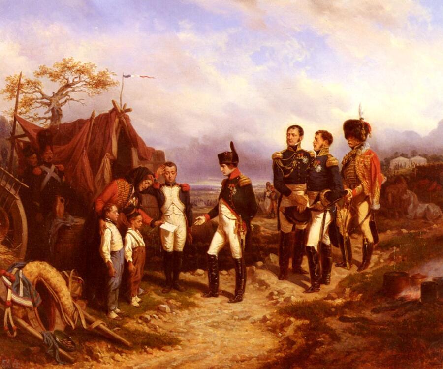 Жозеф Луи Ипполит Белланж, «Наполеон и маленький посланник»