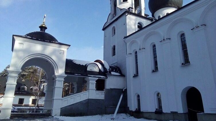 Монастырь в честь святой блаженной Ксении Петербургской