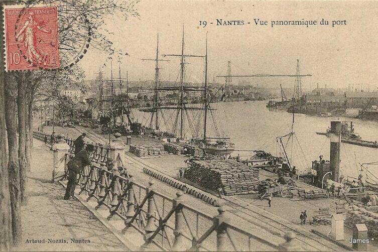 Вид на порт Нанта