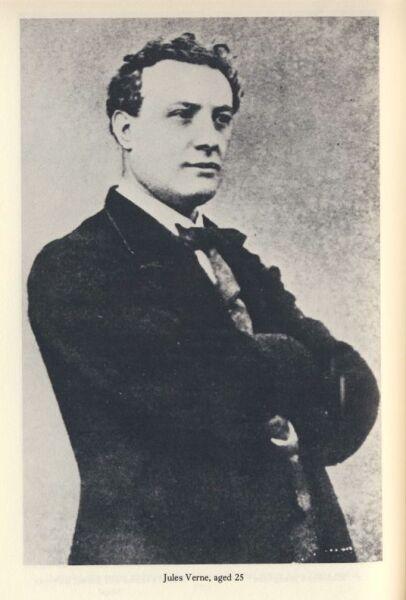 Жюль Верн в возрасте 25 лет, ок. 1853 г.