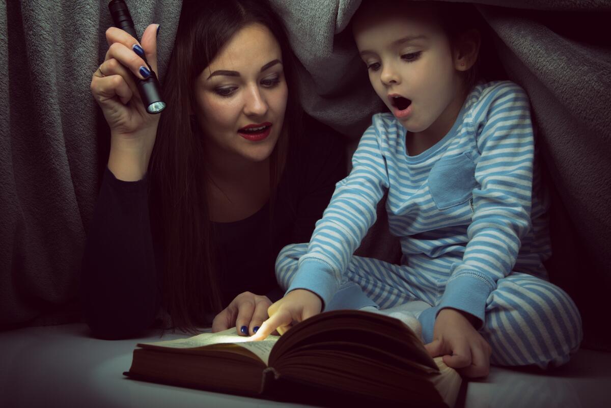 Почему так важно читать детям вслух?