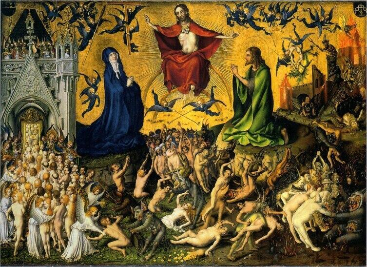 Стефан Лохнер, «Страшный суд», 1435 г.