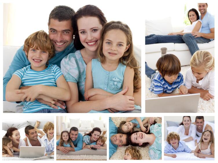 Как сделать фотоколлаж для семейного альбома?