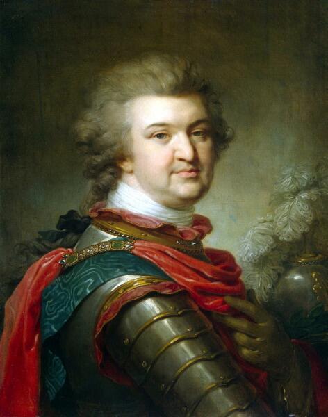 Иоганн Баптист Лампи (старший), «Портрет князя Григория Потемкина-Таврического»