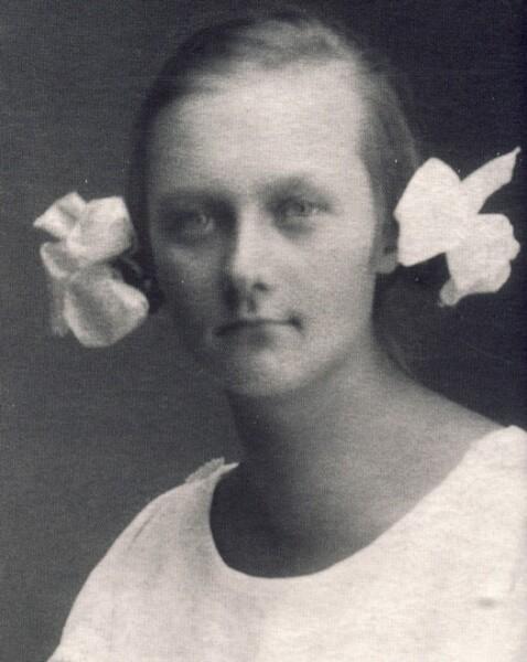 Астрид Эрикссон, 1923 г.
