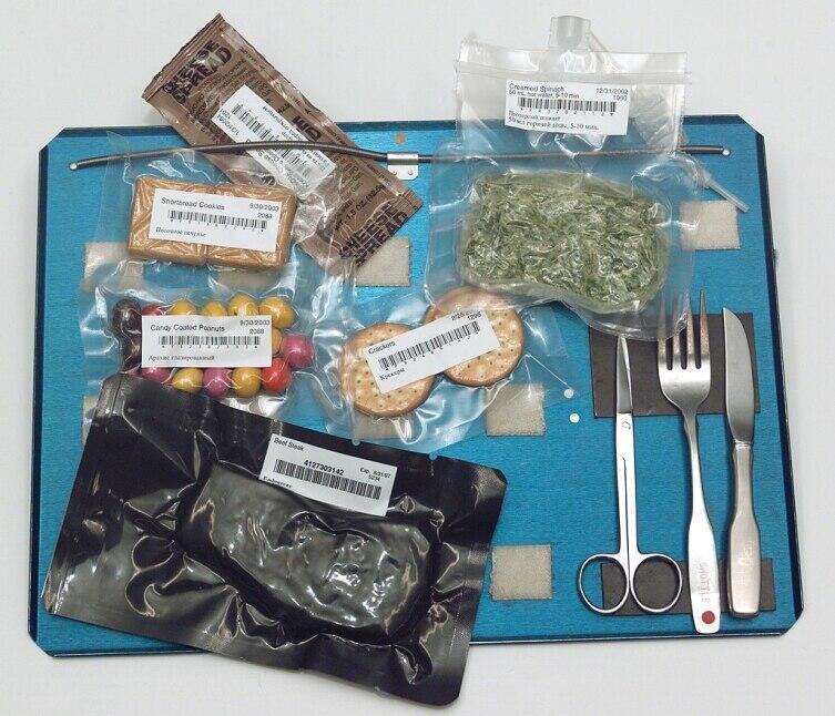 Набор продуктов питания астронавтов