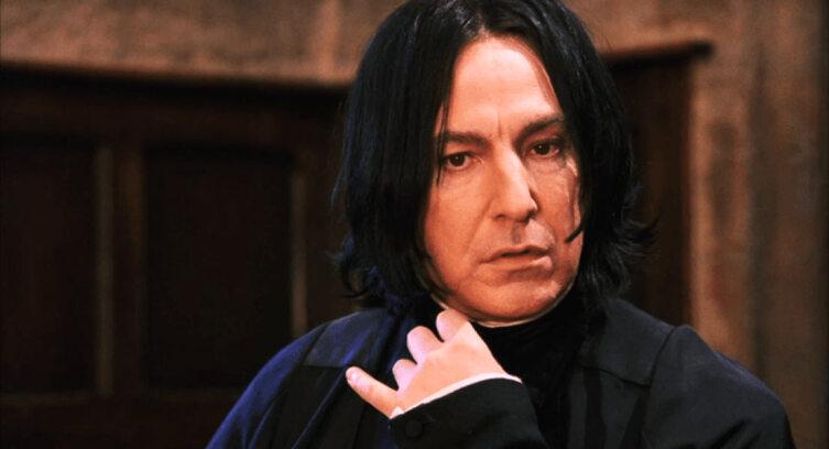 Профессор Снейп. Кадр из кинофраншизы «Гарри Поттер»