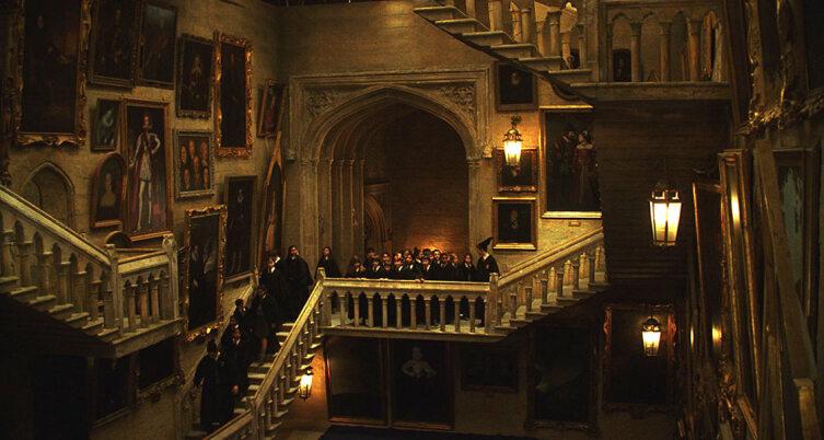 Хогвартс. Кадр из кинофраншизы «Гарри Поттер»