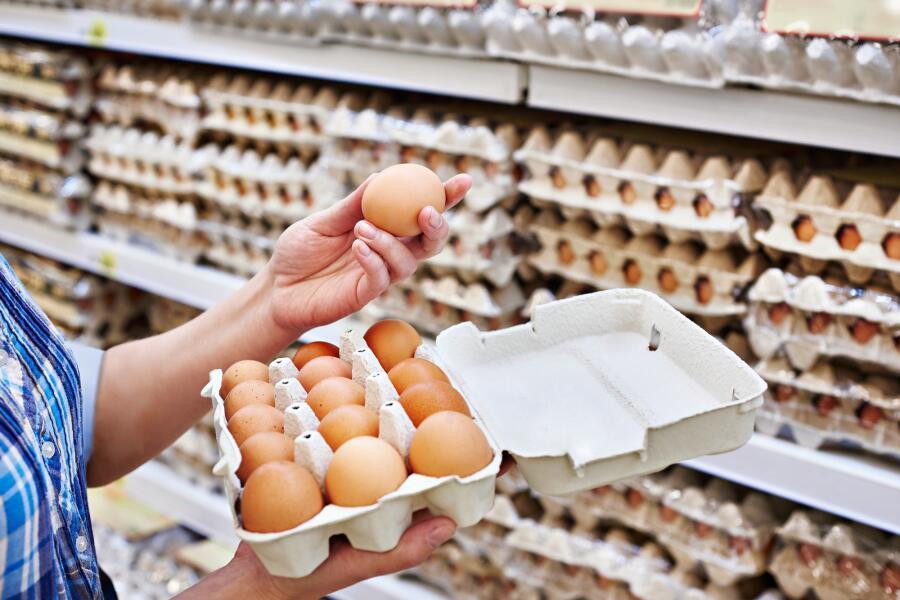 Как правильно есть яичную скорлупу?