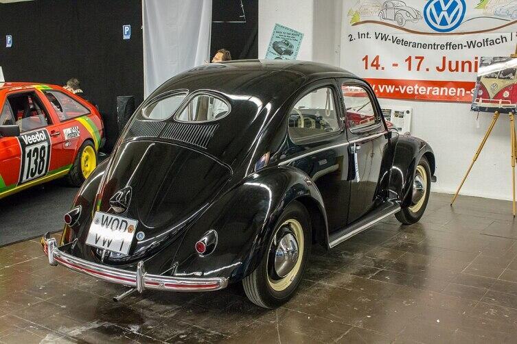 Фольксваген модель 1100 Limousine, 1949—1953 гг.