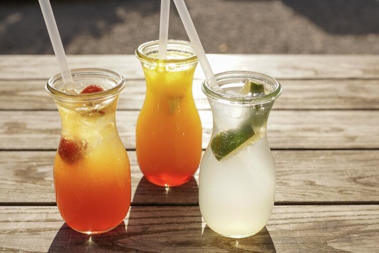 Будьте осторожны с прохладительными напитками