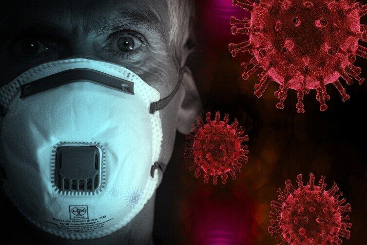 Для защиты от вируса подходит лишь специальная маска, с высокой степенью фильтрации