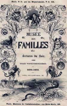 Обложка журнала «Musée des familles» 1854-1855 гг.
