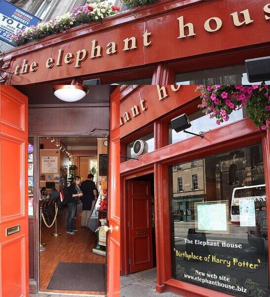 «The Elephant House» — кафе в Эдинбурге, в котором Роулинг писала первую книгу о Гарри Поттере