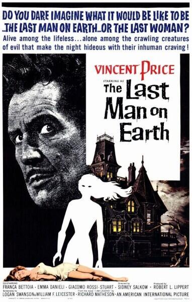 Постер к фильму «Последний человек на Земле», 1964 г.