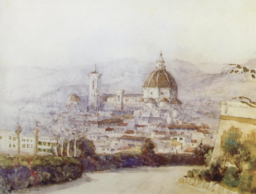 В. И. Суриков, «Флоренция», 1884 г.<br />