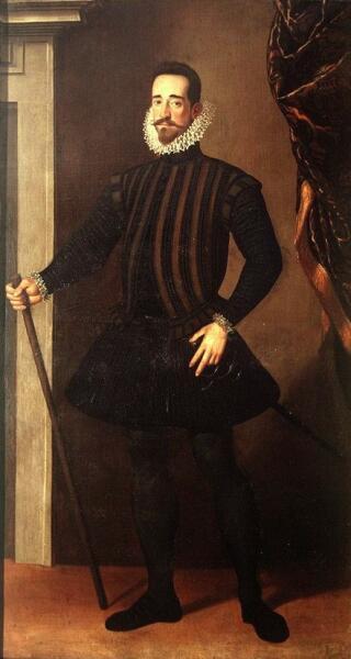 Санти ди Тито, «Пьетро Медичи», 1584-1586 гг.