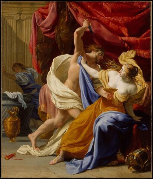Симон Вуэ, «Тарквиний и Лукреция»