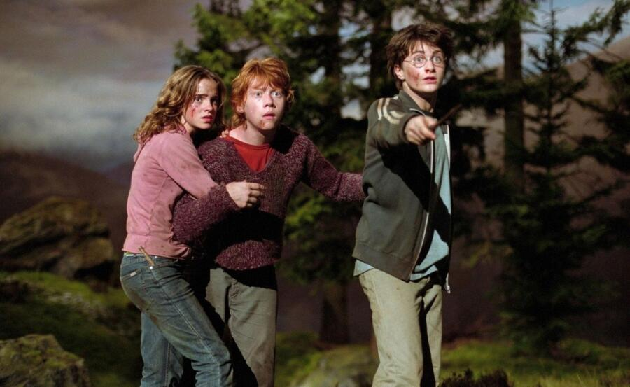 Кадр из кинофраншизы «Гарри Поттер»